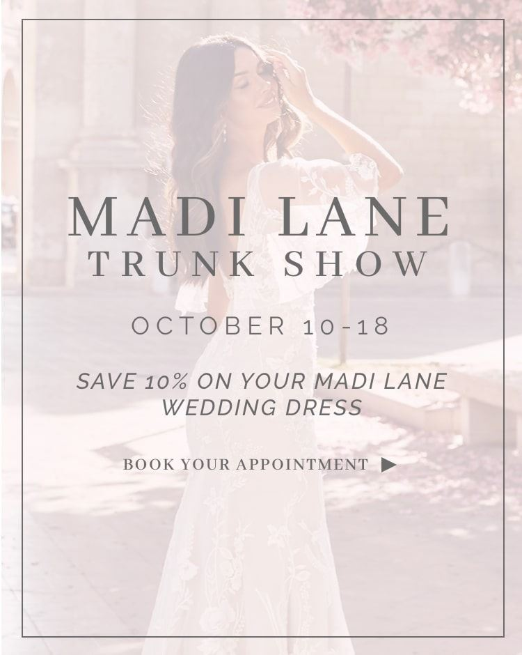 Madi Lane Trunk Show October 10-18. Mobile Image